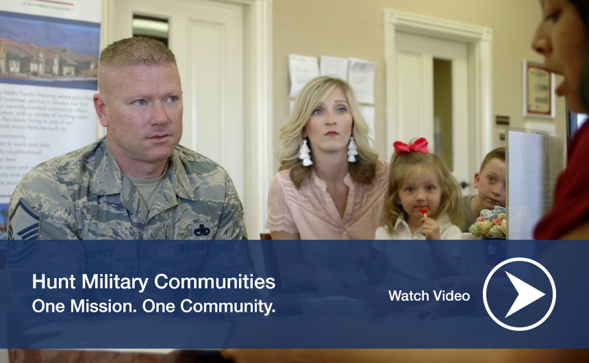 Hunt Military Communities Video