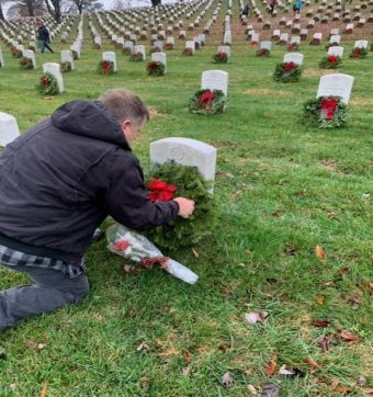 Hunt Military Communities Support Wreaths Across America
