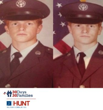 Jeff and Joe Mueller , U.S. Air Force, Retired