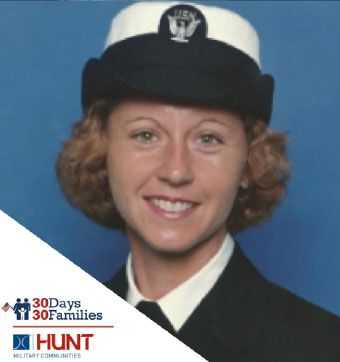 Bonnie, U.S. Navy Reserve, '93 - '14, Resident of Mid-South Family Housing Community